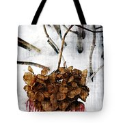 Bleedout In The Snow Tote Bag