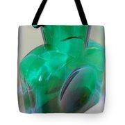 Blenko Green Tote Bag