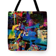 Blessed Is He Who Distinguishes Between The Sacred And The Profane 3 Tote Bag