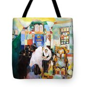 Blessed Is He Who Has Come Tote Bag