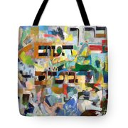 blessed is He Who is good and Who does good 6 Tote Bag