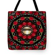 Blessed Sunrise Pop Art Tote Bag