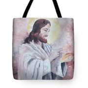 Blessing Of The Bread Tote Bag