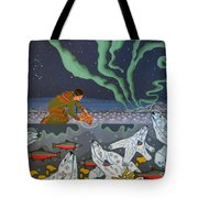 Blessing Of The Polar Bears Tote Bag