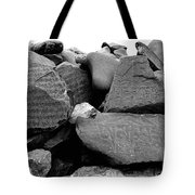 Blessings On Every Stone Tote Bag