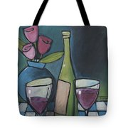 Blind Date With Wine Tote Bag