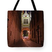 Blind Donkey Alley Tote Bag by Adam Romanowicz