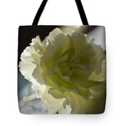 Blissful White Tote Bag