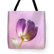 Blissfully Purple Tote Bag