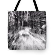 Blizzard In The Forest Tote Bag