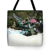 Blizzard Ski Lifts Tote Bag