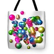 Blobs Of Fun... Tote Bag