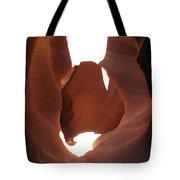 Blocked Canyon Tote Bag