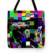 Blocked Scream Tote Bag