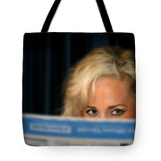Blond Girl Tote Bag