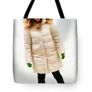 Blonde Ice Skater Tote Bag
