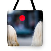 Blondes Are Not Allowed Tote Bag