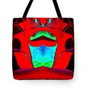 Blood Red Tote Bag