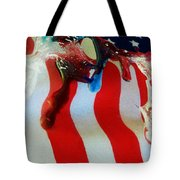 Blood Sweat And Tears Fallen For Freedom Tote Bag
