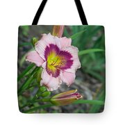 Blood Throated Lily 1 Tote Bag