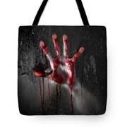 Bloody Hand Tote Bag by Jt PhotoDesign