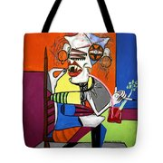 Bloody Mary Let The Dead Bury The Dead Tote Bag