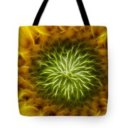 Bloom Of The Sunflower Tote Bag
