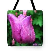 Bloom Tulip After Rain Tote Bag