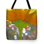 Bloom Yellow Daisy Tote Bag
