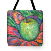 Blooming Apple Tote Bag