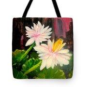 Blooming At Night  Tote Bag