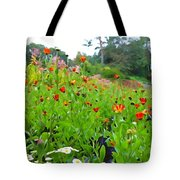 Blooming Beauties Tote Bag