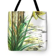 Blooming Daffodil Tote Bag