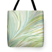 Blooming Grass Tote Bag by Lourry Legarde