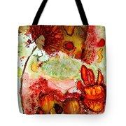 Blooming Impressions.. Tote Bag