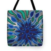 Blooming In Blue Tote Bag