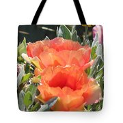 Blooming Prickly Pear Tote Bag
