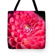 Blooming Red Flower Tote Bag by John Wadleigh