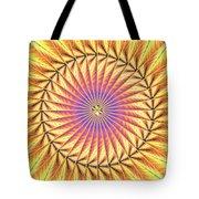 Blooming Seasons Kaleidoscope Tote Bag by Derek Gedney