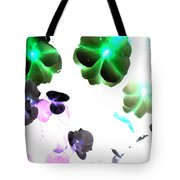Blooming Space Tote Bag