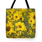 Blooming Sunflower Tote Bag