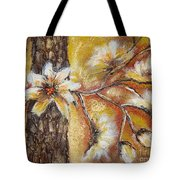 Blooming Tree Tote Bag by Elena  Constantinescu