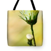 Blooming Weed Tote Bag