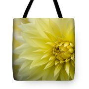 Blooming Yellow Petals Tote Bag