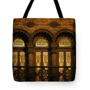 Bloomingdale's At Home In Chicago's Medinah Temple Tote Bag