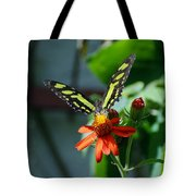Blooms And Butterfly1 Tote Bag