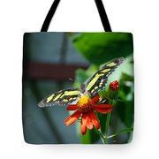 Blooms And Butterfly2 Tote Bag