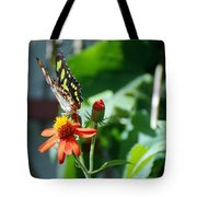Blooms And Butterfly4 Tote Bag
