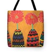 Blooms In Native Dress Tote Bag