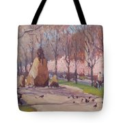 Blooms On Comm Ave Tote Bag
